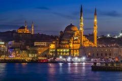 Nuova moschea & x28; Istanbul& x29; Fotografie Stock