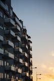 Nuova palazzina di appartamenti Immagini Stock