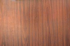 nuova parete di legno marrone Fotografia Stock