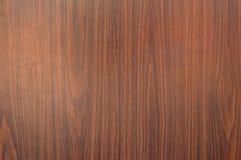 nuova parete di legno marrone Fotografie Stock
