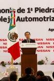 Nuova pianta di automobile dei Nissan nel Messico Immagine Stock Libera da Diritti
