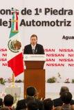 Nuova pianta di automobile dei Nissan nel Messico Fotografia Stock Libera da Diritti