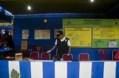 NUOVA POLITICA DELLA SICUREZZA DELL'INDONESIA Fotografie Stock Libere da Diritti