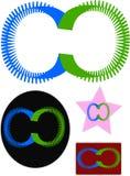 Nuova progettazione di logo del software Immagine Stock Libera da Diritti