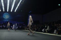 Nuova raccolta della sfilata di moda Fotografia Stock
