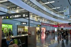 Nuova registrazione nell'aeroporto di Vienna Fotografia Stock