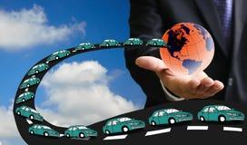 Nuova richiesta globale dell'automobile Fotografie Stock Libere da Diritti