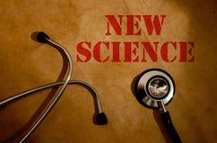 Nuova scienza Fotografia Stock Libera da Diritti