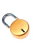 Nuova serratura fotografia stock