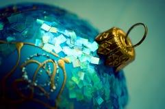 Nuova sfera blu Immagini Stock