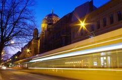 Nuova sinagoga a Berlino Fotografie Stock Libere da Diritti