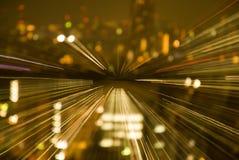 Nuova sistemazione II di notte Fotografia Stock