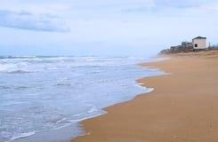 Nuova spiaggia di Smyrna Fotografia Stock