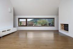 Nuova stanza vuota Fotografie Stock Libere da Diritti