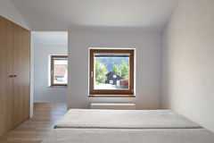 Nuova stanza vuota Fotografie Stock