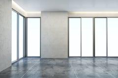Nuova stanza vuota dell'ufficio Fotografia Stock Libera da Diritti