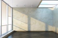 Nuova stanza vuota dell'ufficio Fotografia Stock