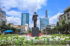 Nuova statua di Ho Chi Minh Immagine Stock Libera da Diritti