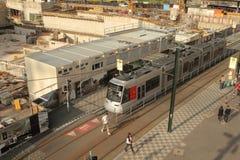 Nuova stazione di metro nello sseldorf del ¼ di DÃ. Fotografia Stock