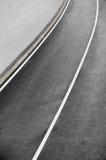 Nuova strada asfaltata fotografia stock libera da diritti