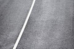 Nuova strada asfaltata immagine stock