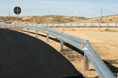Nuova strada della strada principale dell'asfalto Immagine Stock