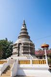 Nuova struttura del pagoda in Tailandia Fotografie Stock Libere da Diritti