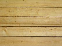 Nuova struttura di legno della parete Fotografia Stock