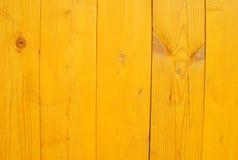 Nuova struttura di legno gialla per fondo Immagini Stock Libere da Diritti