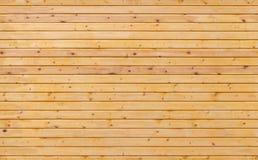Nuova struttura di legno non colorata del fondo della parete Fotografie Stock Libere da Diritti