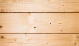 Nuova struttura di legno non colorata della parete Fotografie Stock