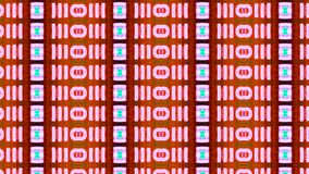 Nuova tecnologia crescente delle cellule del fondo astratto video d archivio