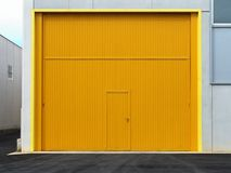 Nuova unità industriale Fotografia Stock Libera da Diritti