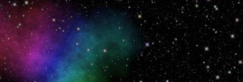 Nuova vista panoramica in spazio profondo Il segreto di scienza Scoperta dei pianeti distanti immagini stock libere da diritti