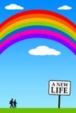 Nuova vita Immagine Stock