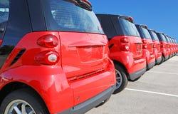 Nuove automobili Immagini Stock