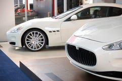 Nuove automobili di Maserati Fotografie Stock Libere da Diritti