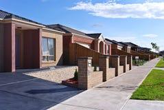Nuove case Immagini Stock