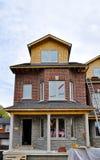 Nuove case da vendere Fotografia Stock Libera da Diritti