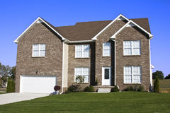 Nuove case da vendere Immagine Stock Libera da Diritti