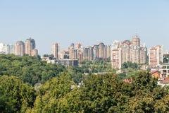 Nuove case di Kiev Immagine Stock Libera da Diritti