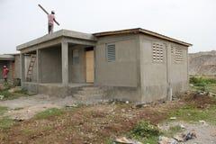 Nuove case in Haiti Fotografia Stock Libera da Diritti