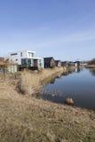 Nuove case nel buurt di homerus in Almere Poort nei Paesi Bassi Immagini Stock