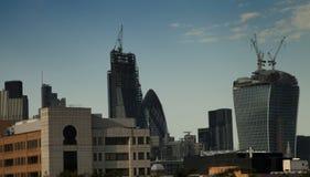 Nuove costruzioni del grattacielo fotografia stock libera da diritti