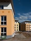 Nuove costruzioni di appartamento immagine stock
