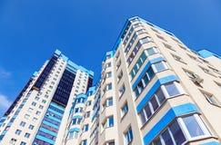 Nuove costruzioni di appartamento moderne alte Immagine Stock
