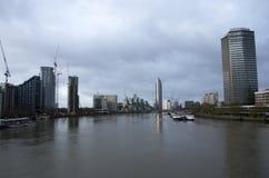 Nuove costruzioni a Londra Fotografie Stock