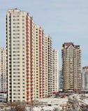 Nuove costruzioni moderne alte Fotografia Stock