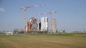 Nuove costruzioni per l'Expo 2015 Fotografia Stock