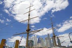 Nuove costruzioni in Puerto Madero a Buenos Aires, Argentina immagine stock libera da diritti